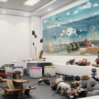 Children Dental Clinick Playground