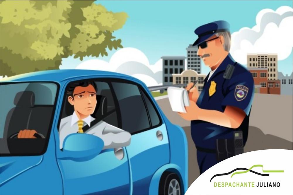 Aumento valor das multas