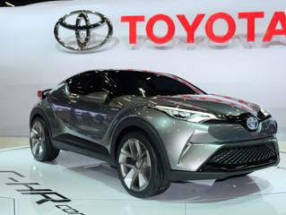Toyota C-HR é apresentado no Salão do Automóvel
