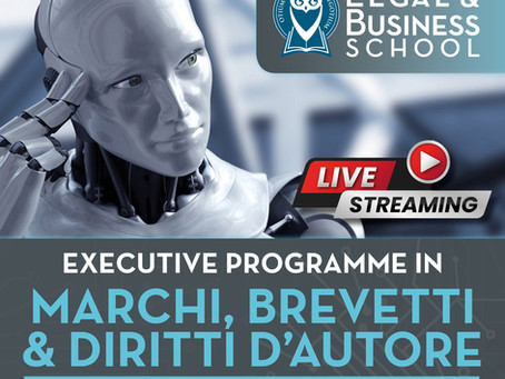 LIVE STREAMING MARCHI, BREVETTI & DIRITTI D'AUTORE