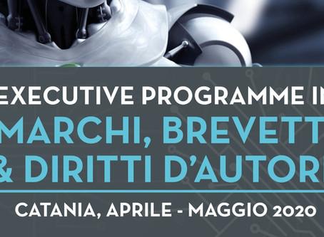 ACCREDITAMENTO EXECUTIVE PROGRAMME MARCHI, BREVETTI E DIRITTI D'AUTORE