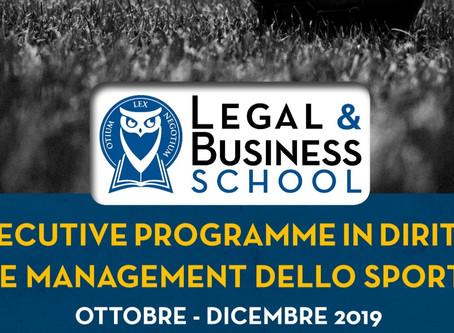 Executive Programme in Diritto e Management dello Sport