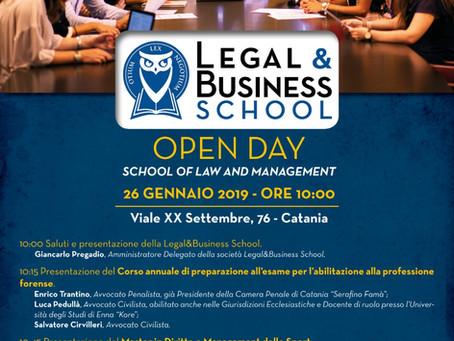 OPEN DAY Scuola Forense e Corsi Executive in Law & Management