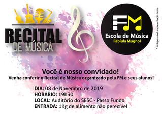Recital de Música 2019 - FM Escola de Música