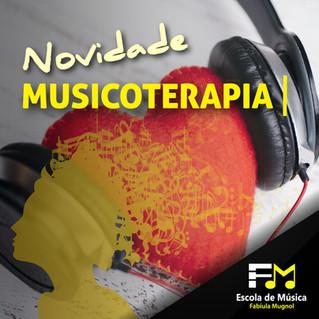 [NOVIDADE] Sessões de Musicoterapia!