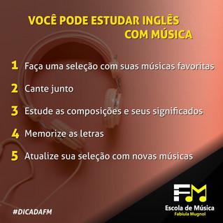[DICAS DA FM] Você pode estudar inglês com música!