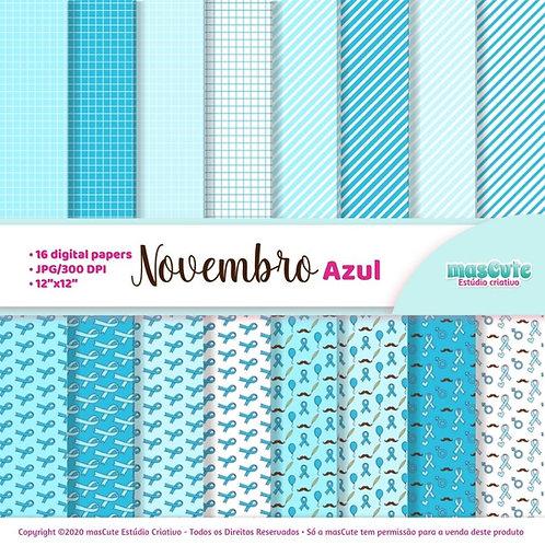 Papel digital Novembro Azul