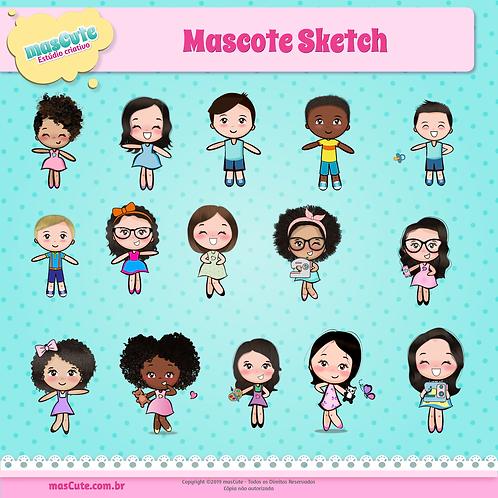Mascote Sketch