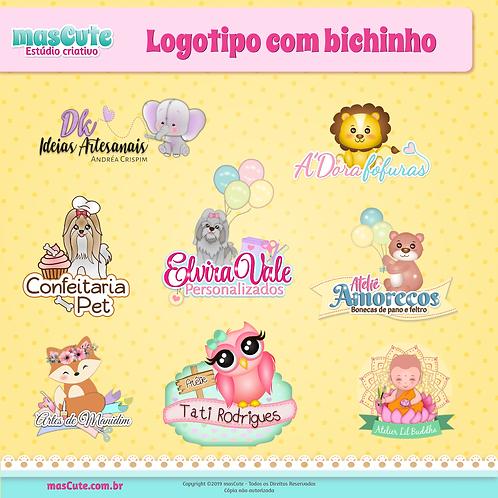 Logotipo com Bichinho