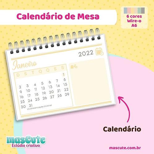 Miolo para Calendário 2022 | Wire-o | A6 | Horizontal