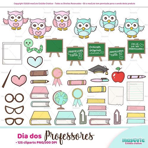 Dia dos Professores  - Kit Digital Clipart