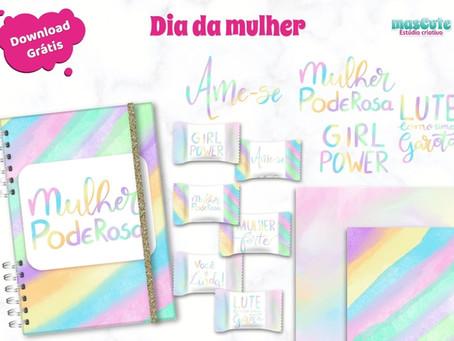 Super Kit digital dia da mulher – para Download grátis