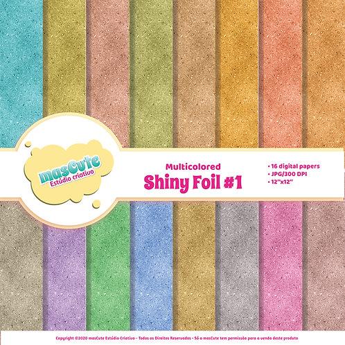 Papel digital Shiny Foil 1