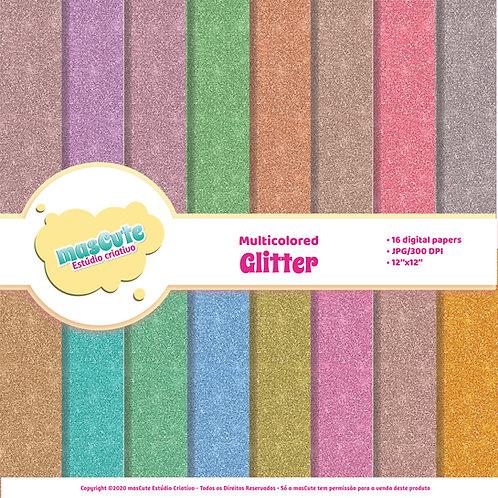 Papel digital Glitter