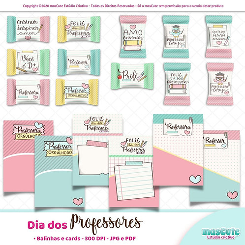 Arquivo digital Balinhas e Cards dia dos professores