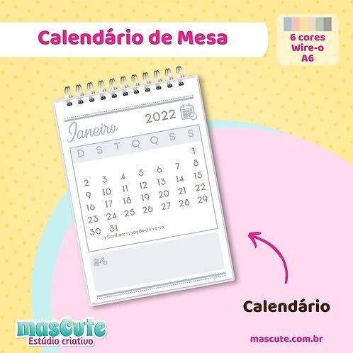 Miolo para Calendário 2022 | Wire-o | A6 | Vertical