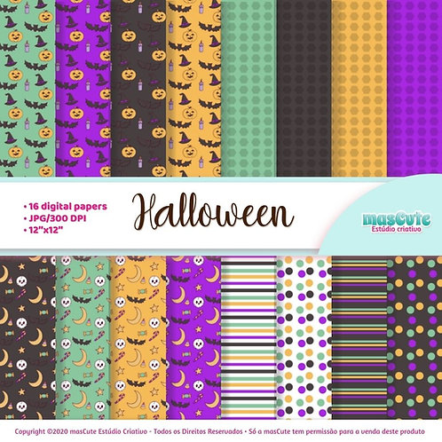Papel digital Halloween