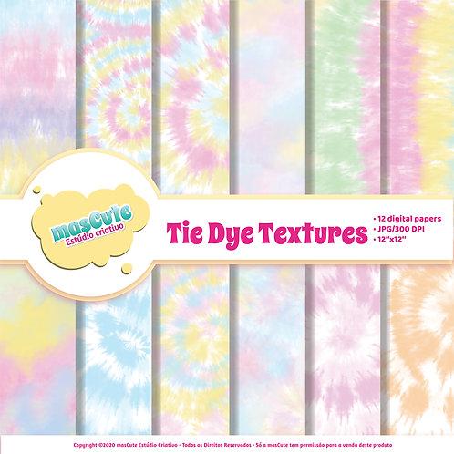 Papel digital Tie Dye