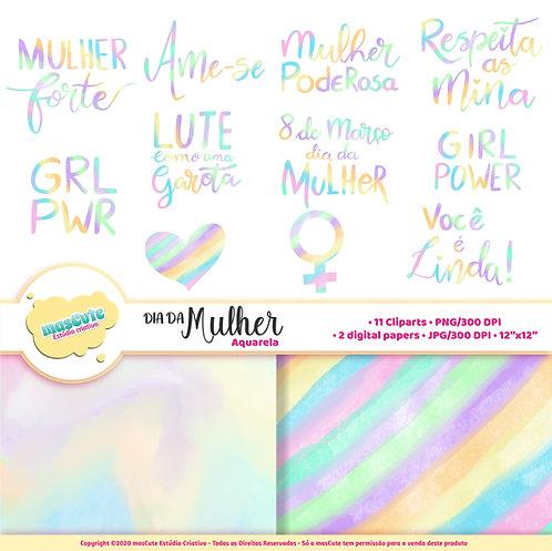 Super Kit digital dia da mulher - Mascute