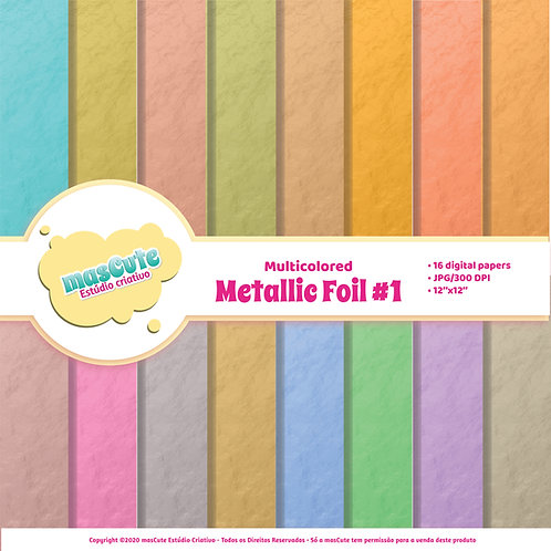 Papel digital Metalic Foil 1