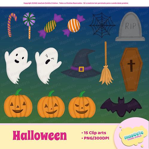 Kit digital cliparts - Halloween