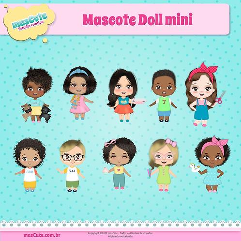 Mascote Doll Mini
