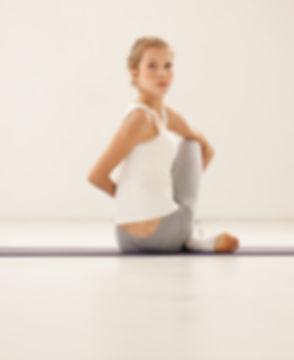 Estiramento da ioga Pose