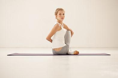 Stretch Yoga-Haltung