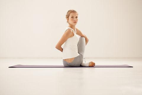 Yoga étirement Pose