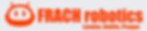 Icon orange white background banner frac