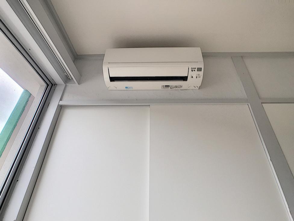 全室エアコン設置済み