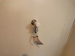 洗濯水栓交換済