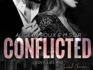 COVER REVEAL - Conflicted by Alice La Roux and M.S.L.R