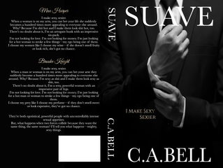 Cover reveal & Pre-order - Suave by C.A.Bell