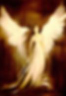 Angel - Oil on canvas - Carla Desantis Painter