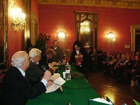 Barberini Palace - Award Ceremony - Carla Desantis Painter