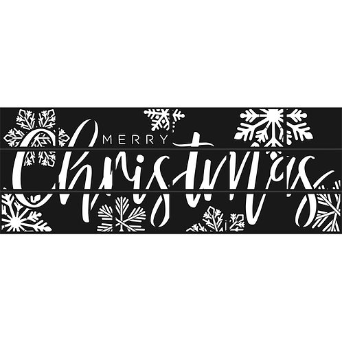 Merry Christmas Cover Set - Snowflake Edition