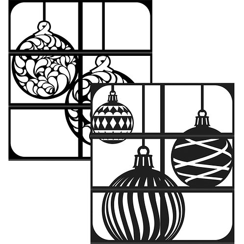 Christmas Ornaments - Double Tower