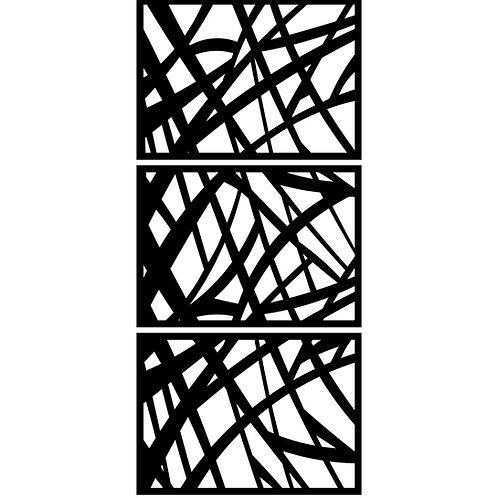 Gradient Curvy Lines Cover Set