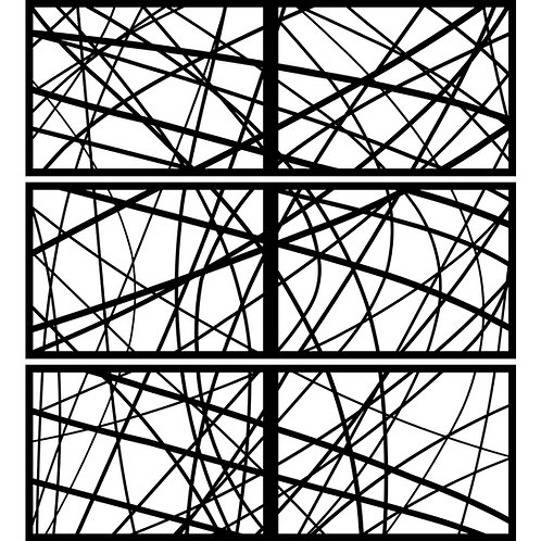 Curvy Lines Panel Cover Set