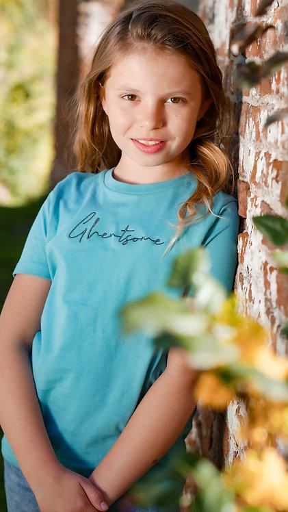 Signature T-shirt Kids Turkoois