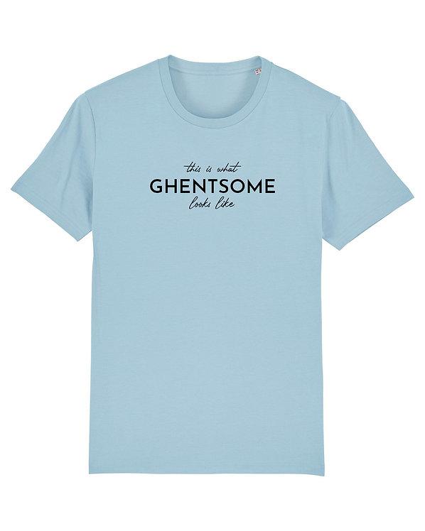 FTT Statement T-shirt Lichtblauw