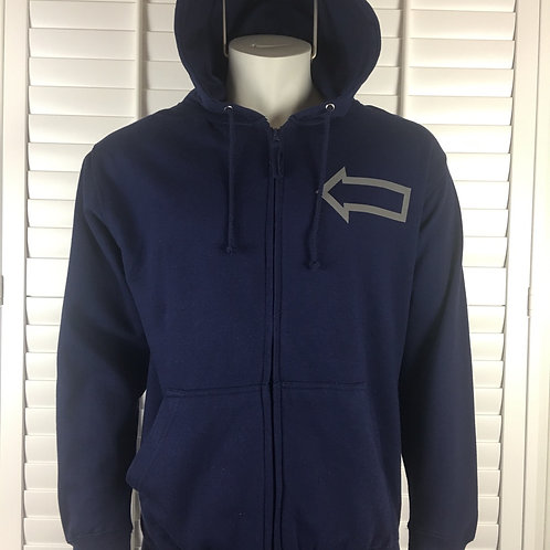 MEN'S ARROWS ZIP HOODIE