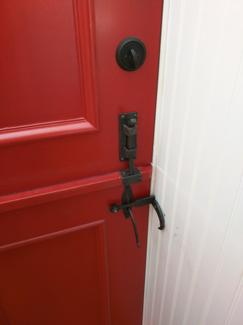 Installed Door Hardware