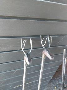 Fireplace tool Heads