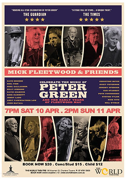 MICK FLEETWOOD & FRIENDS *on screen* special concert event