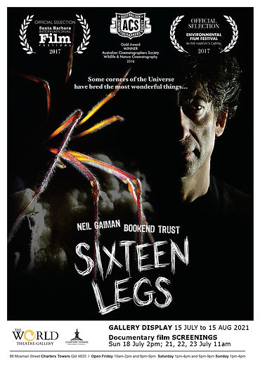 SIXTEEN LEGS exhibition