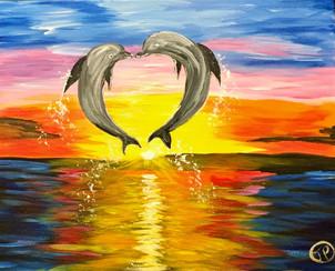 Splashy Love Heart!