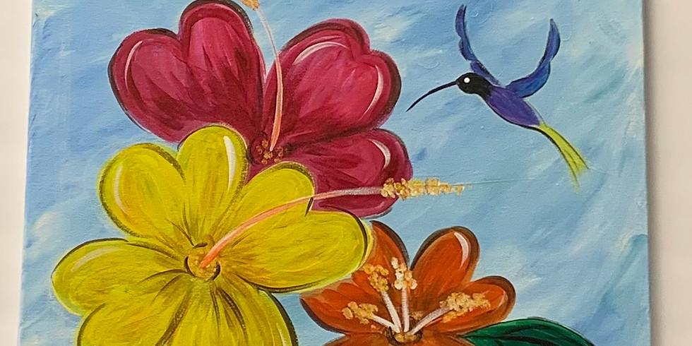 Virtual Artsy Party -Sweet Spring