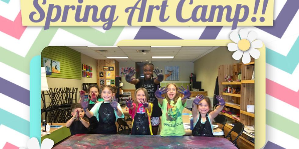 Spring Break Art Camp!!
